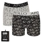 Apollo Deluxe heren boxershorts B 2-pack