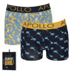 Apollo Deluxe heren boxershorts A 2-pack