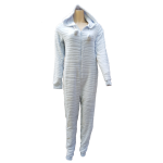 Cocodream kinder onesie fleece 'Zebra' blue