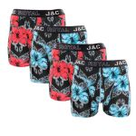J&C Underwear heren boxershorts Promopakket 'Rose mallow' 4-pack